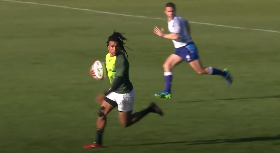 WATCH: The man to replace Kolbe for the desperate Springboks against Georgia