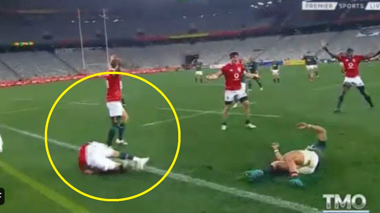 Conor Murray lucky to be alive as Boks get away with another clear red card