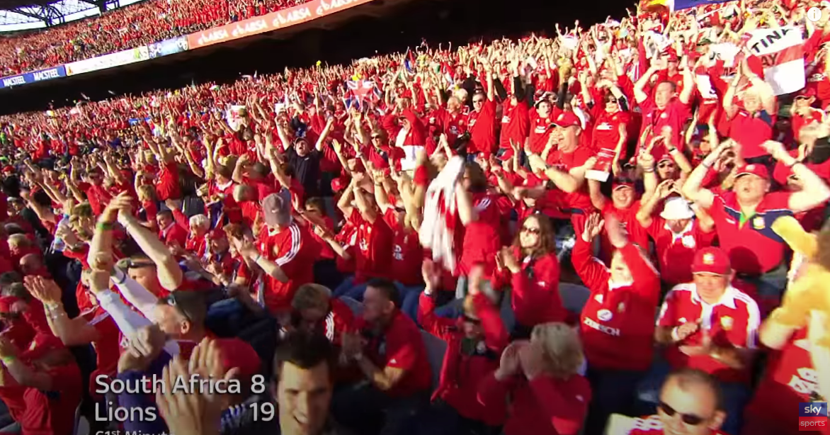 'It's cheating': Lions fans feel latest change could seal series win over Boks