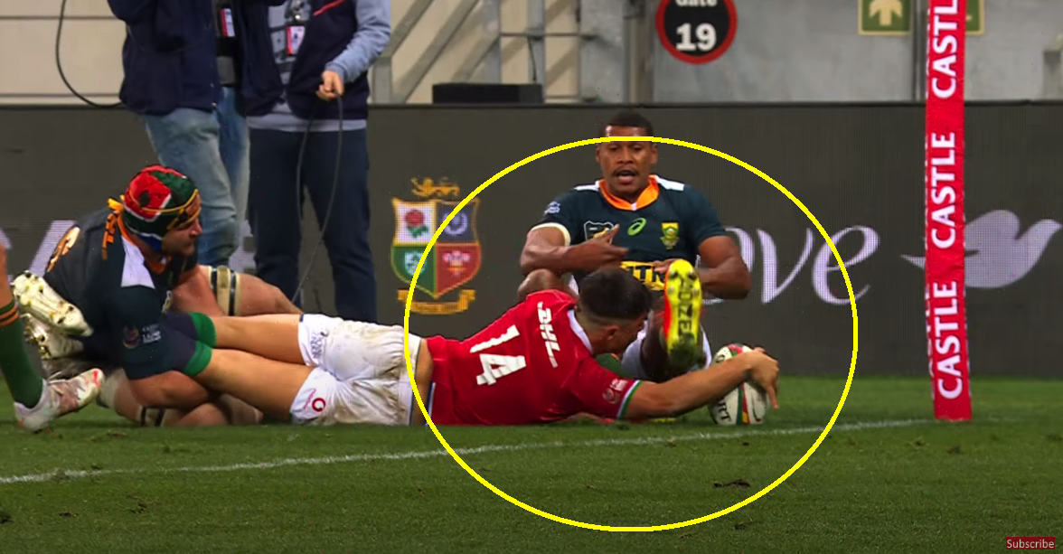 Owens explains decisive disallowed Lions try against South Africa A