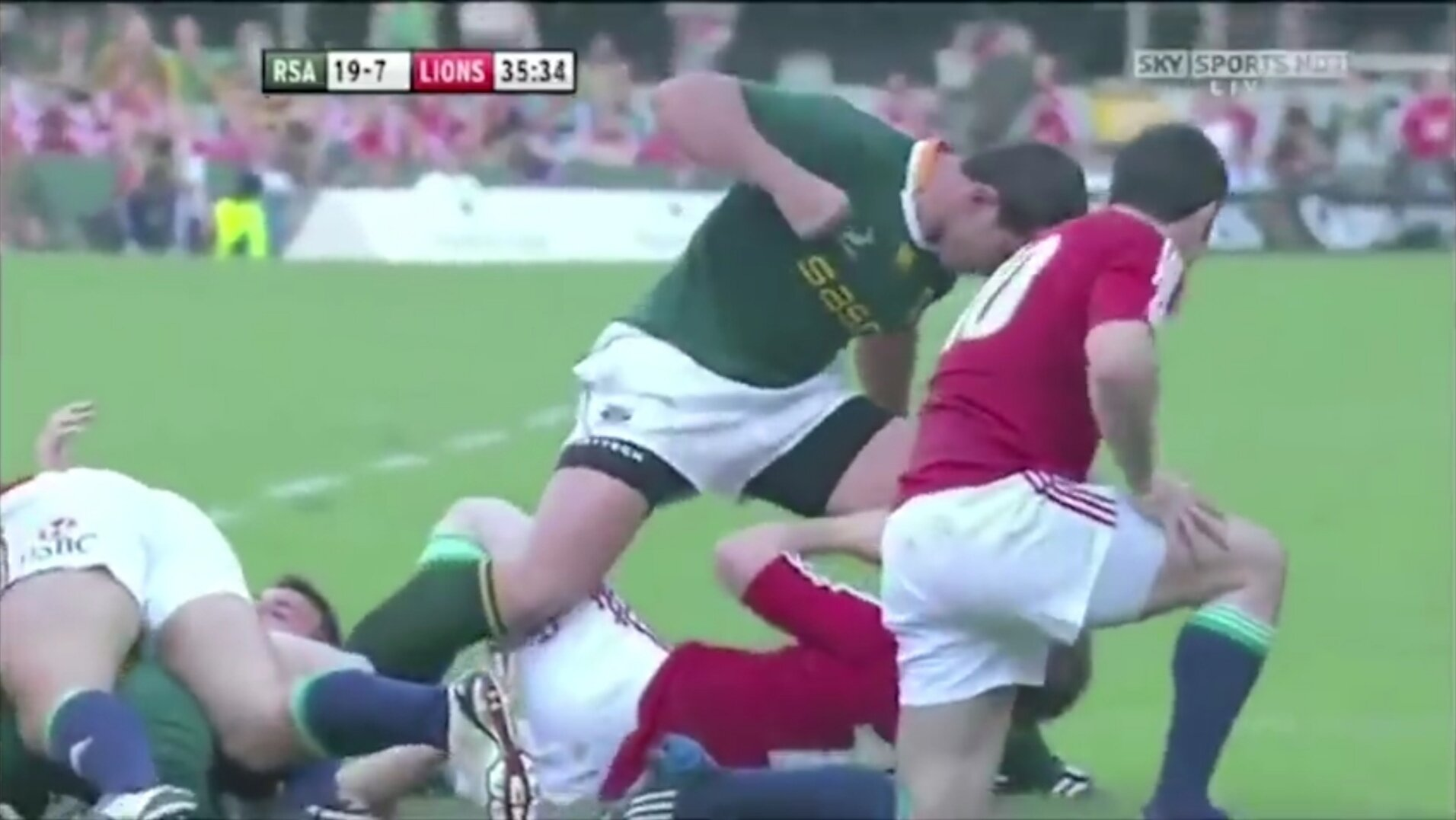 What happens when really awful people are let play rugby