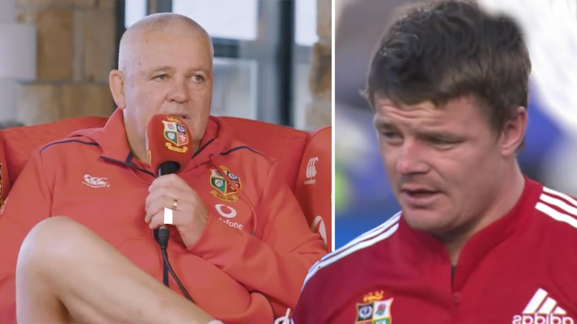 Lions fans stunned as Gatland talks about Brian O'Driscoll on eve of Lions test