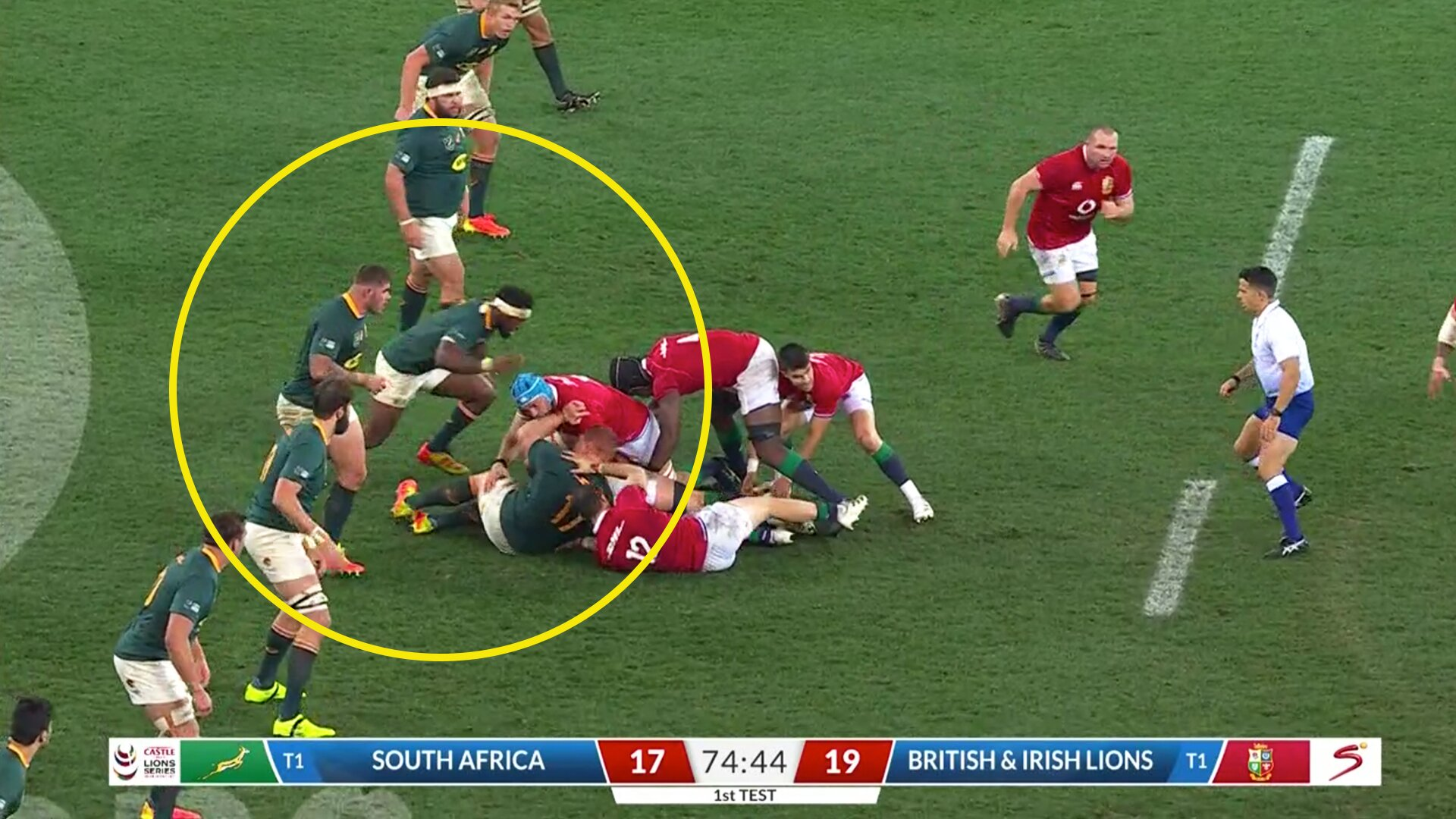 The revolting Siya Kolisi moment that should have had him banned for the series