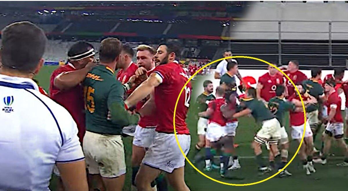 New angle shows Maro Itoje manhandling Eben Etzebeth during brawl