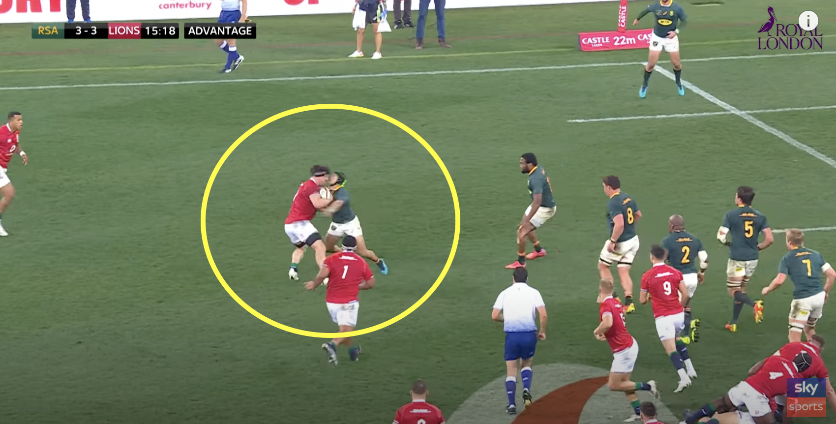 Ex pro left baffled by one of many blatant reds for Kolbe