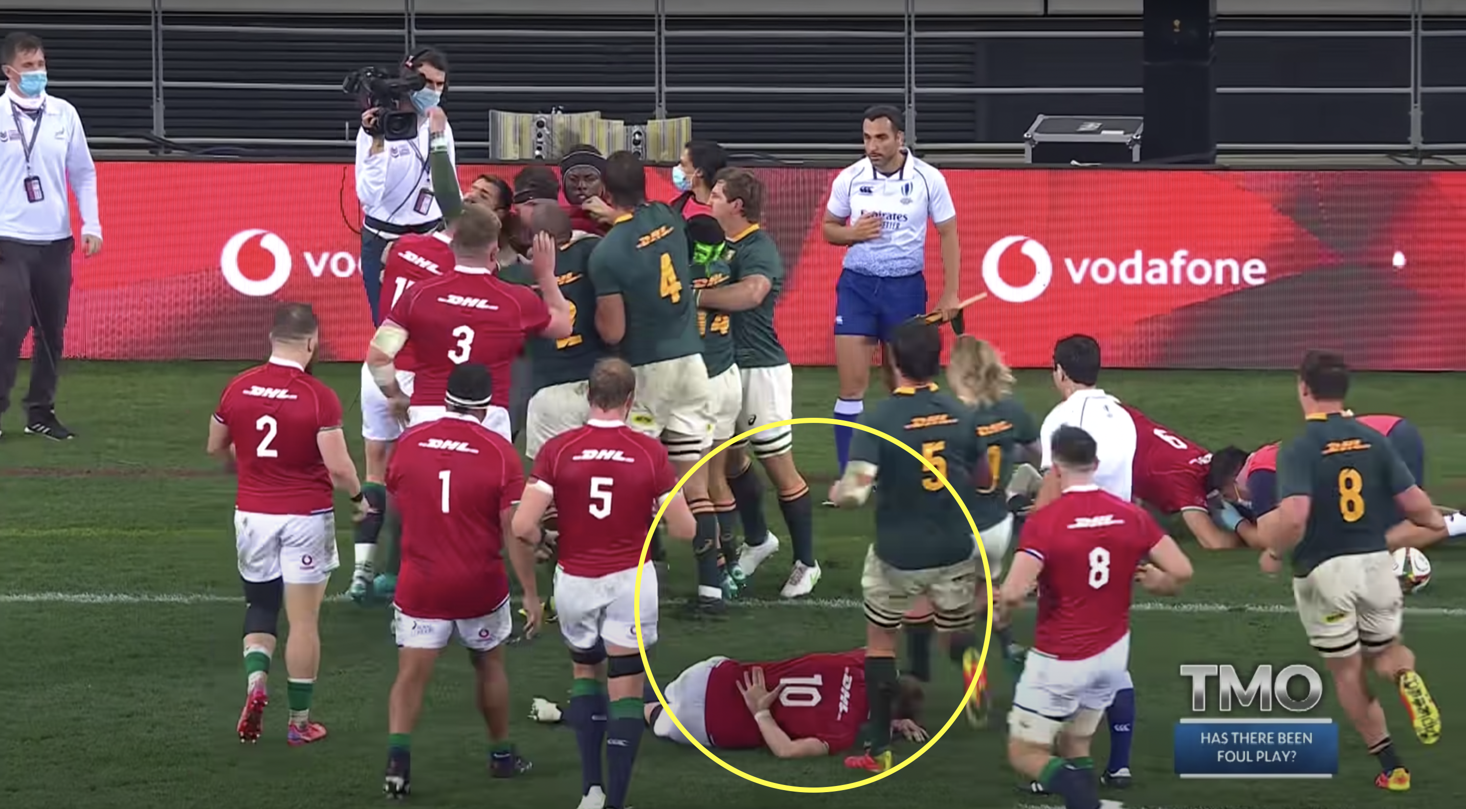 Bok gets away with heinous cheap shot which could have ended a Lion's tour
