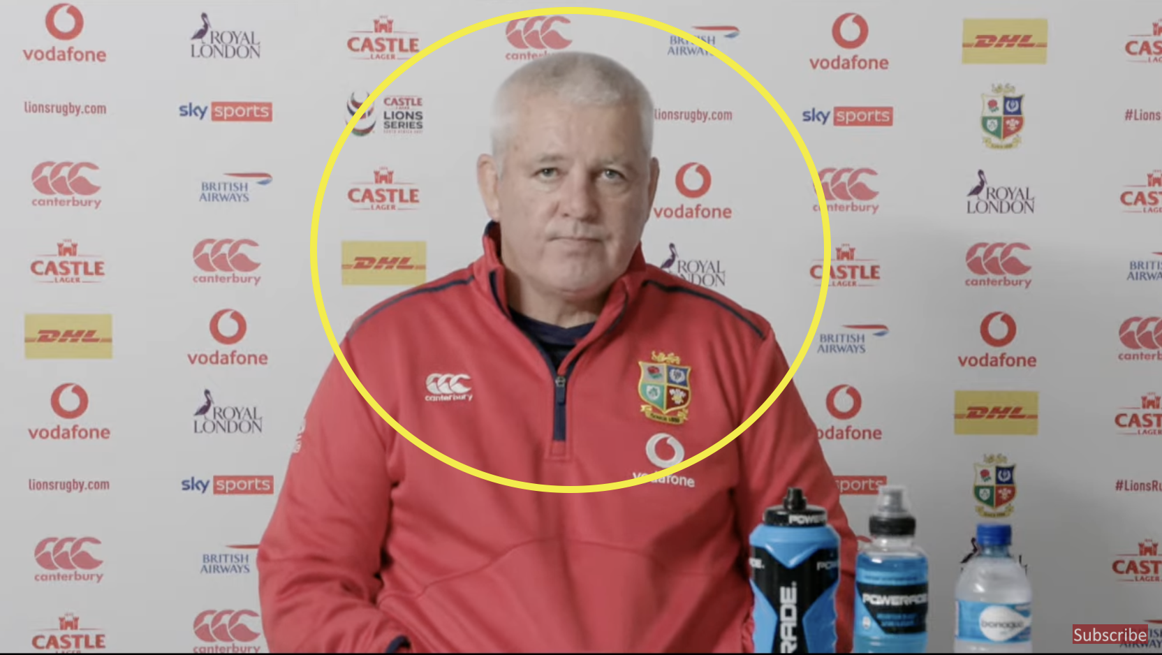 Gatland opens up huge online debate with latest selection