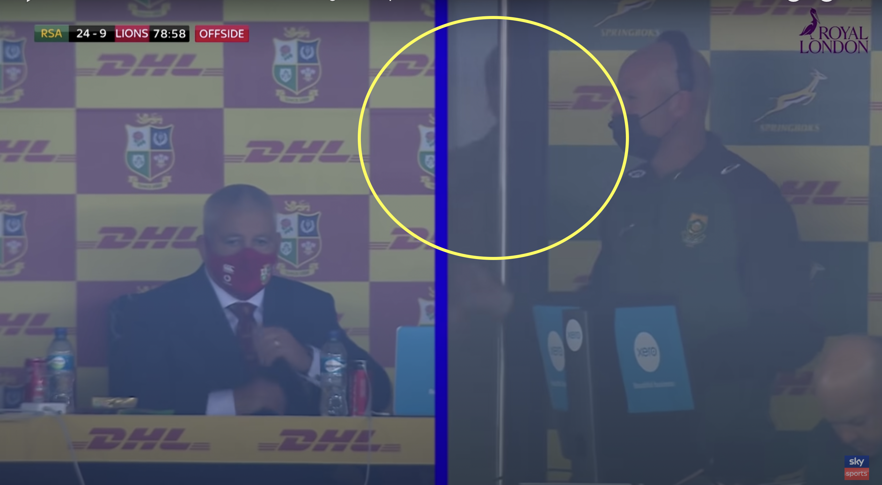 Jaco Johan spotted in South African box