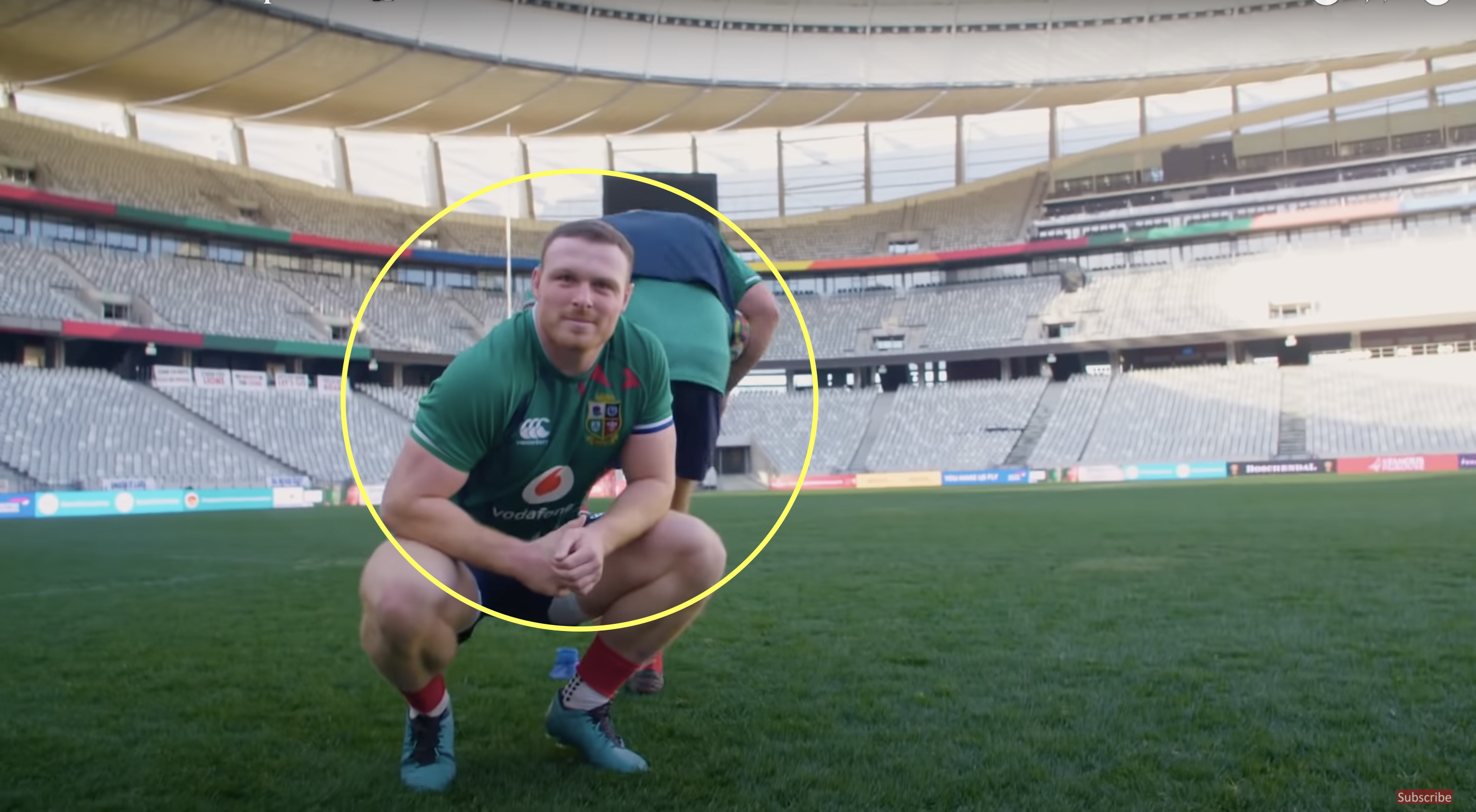 Sam Simmonds proves he can literally do everything on a rugby pitch