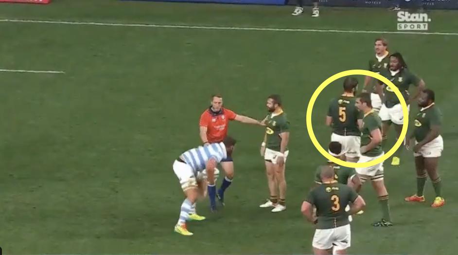 Springboks go too far with dirty play against Pumas