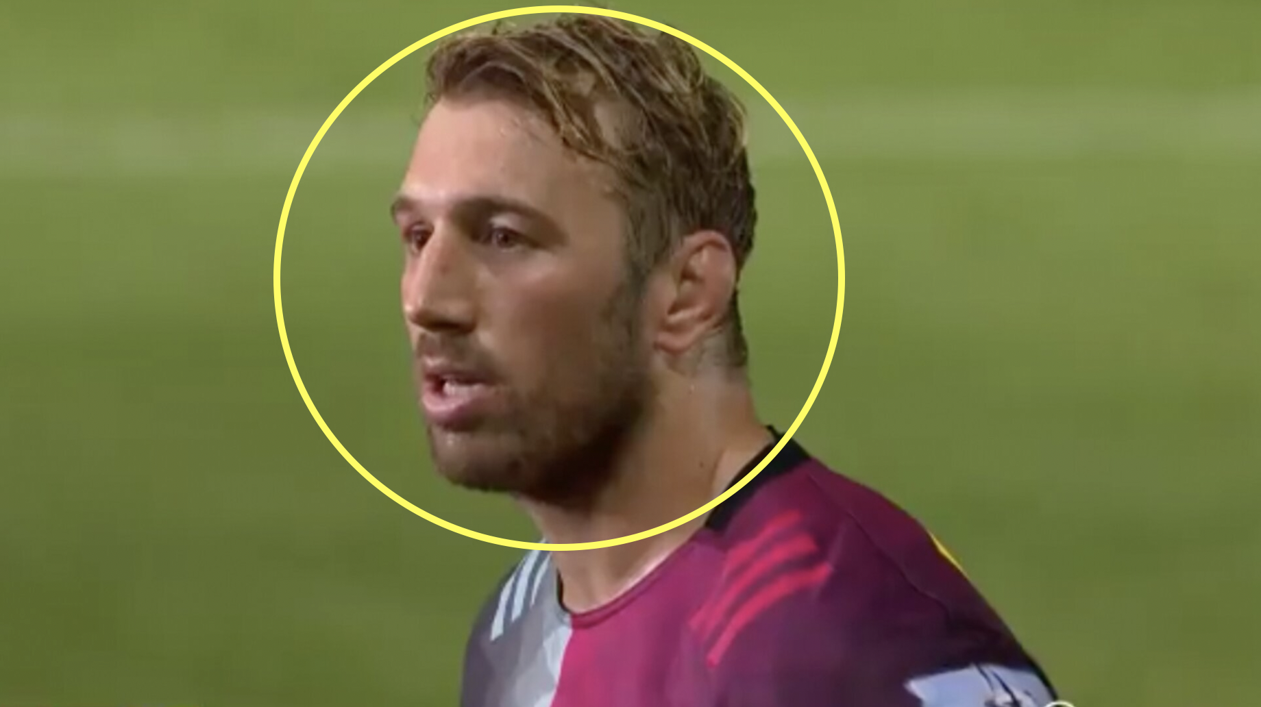 Former England captain Robshaw's hilarious encounter with fan