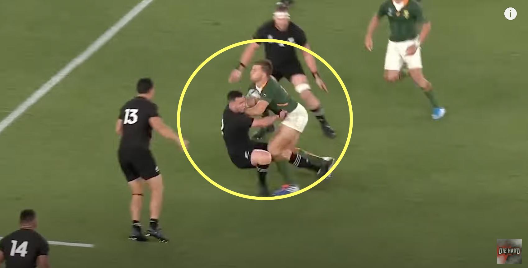 The ultimate video of the Springboks manhandling the All Blacks