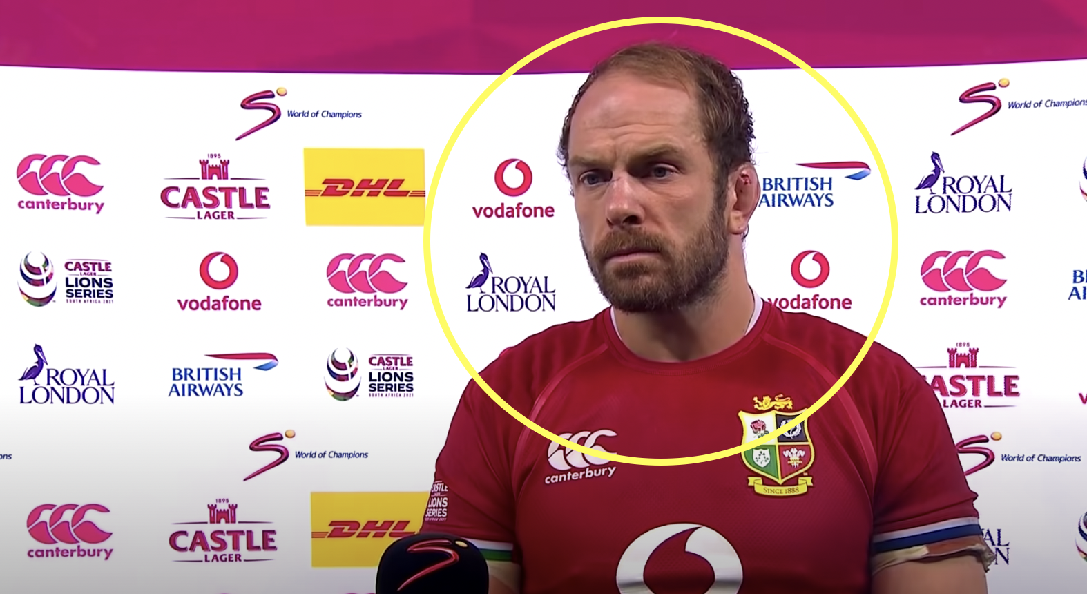 Alun Wyn Jones gives the news all Wales fans want to hear
