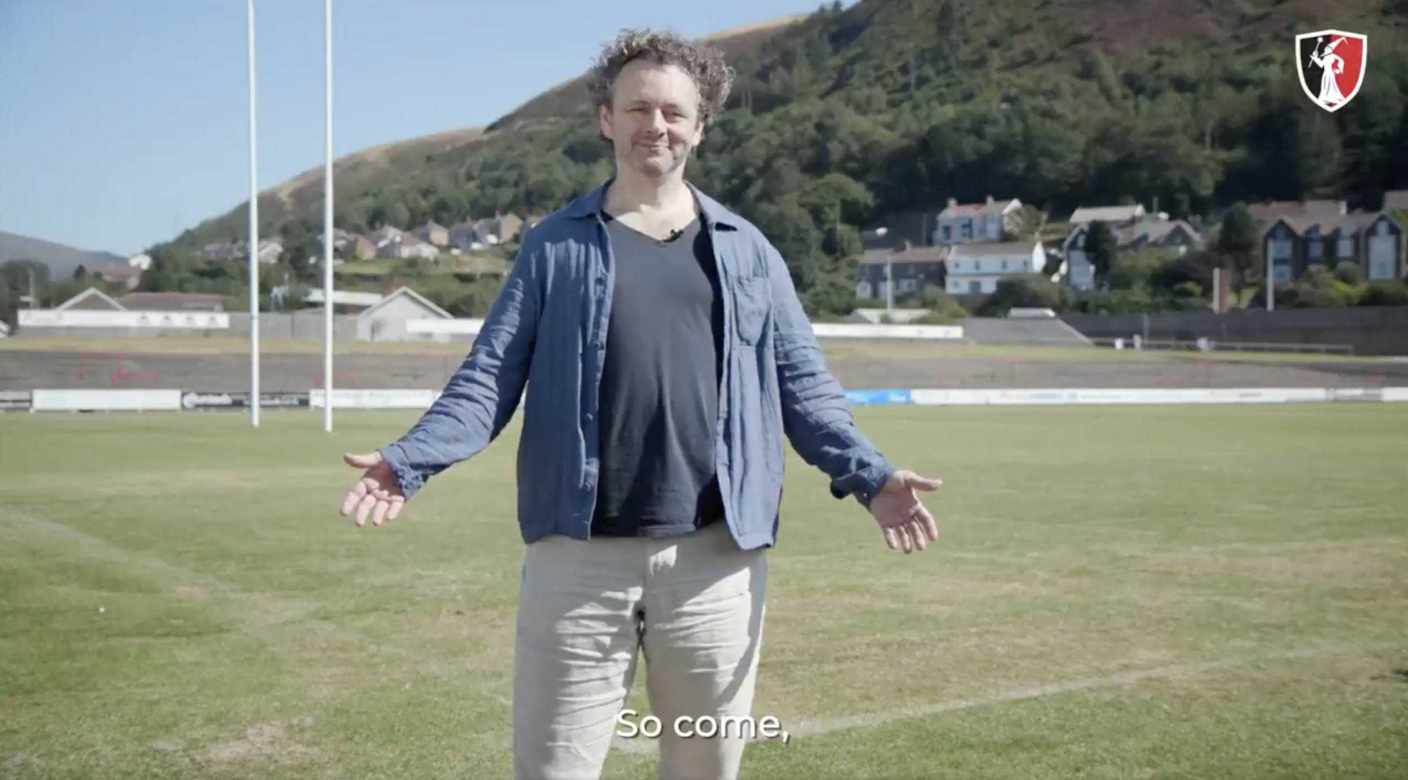Quite possibly the most Welsh rugby promo ever has been created for a small rugby club
