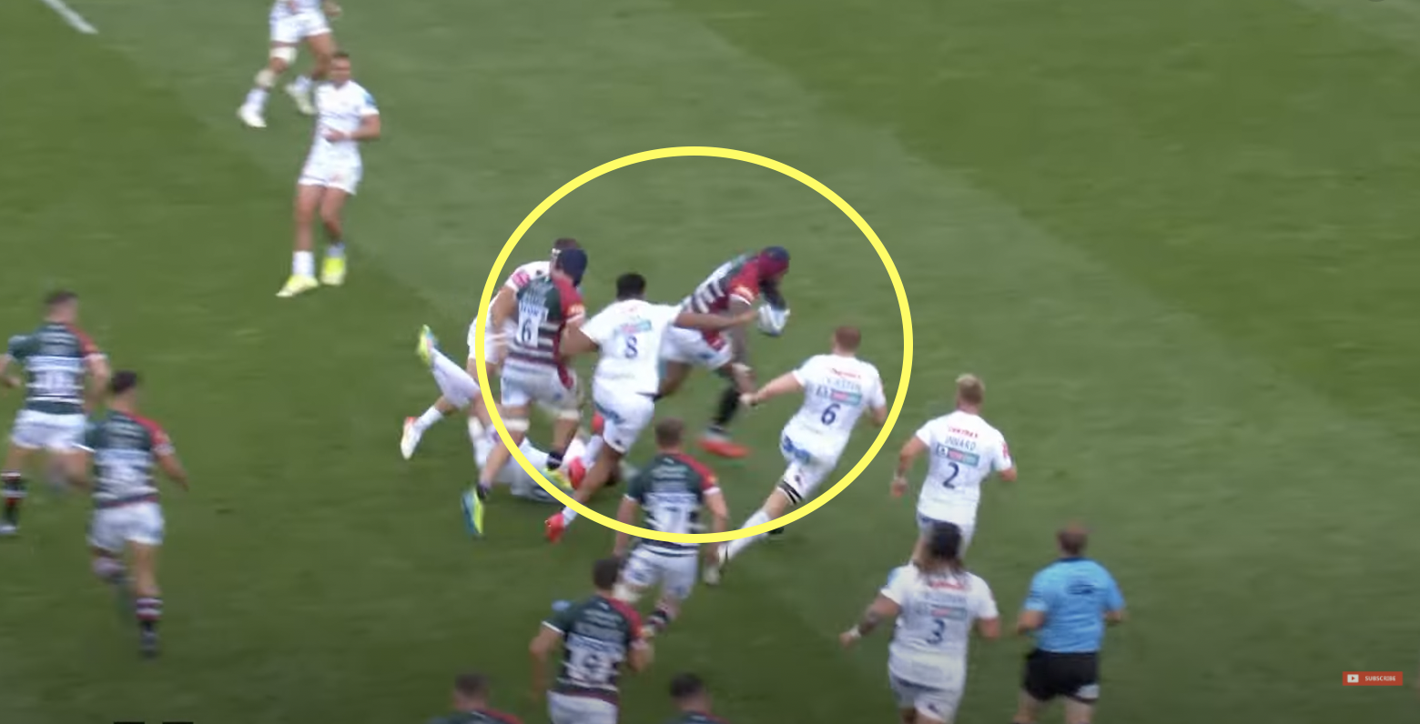 Nadolo flattens England hopeful to set up slick Leicester try