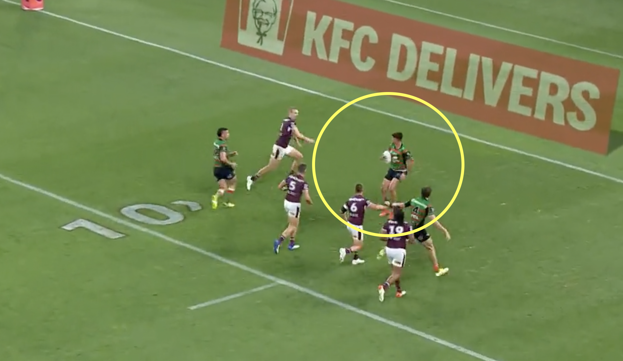 NRL produces first ever Michael Jackson moonwalk inspired try