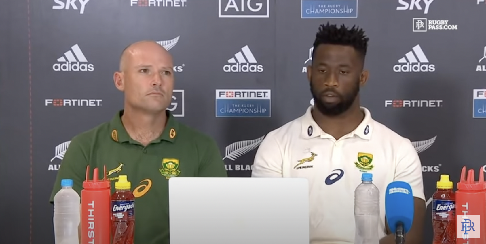 All Blacks post the image all Springboks are fearing